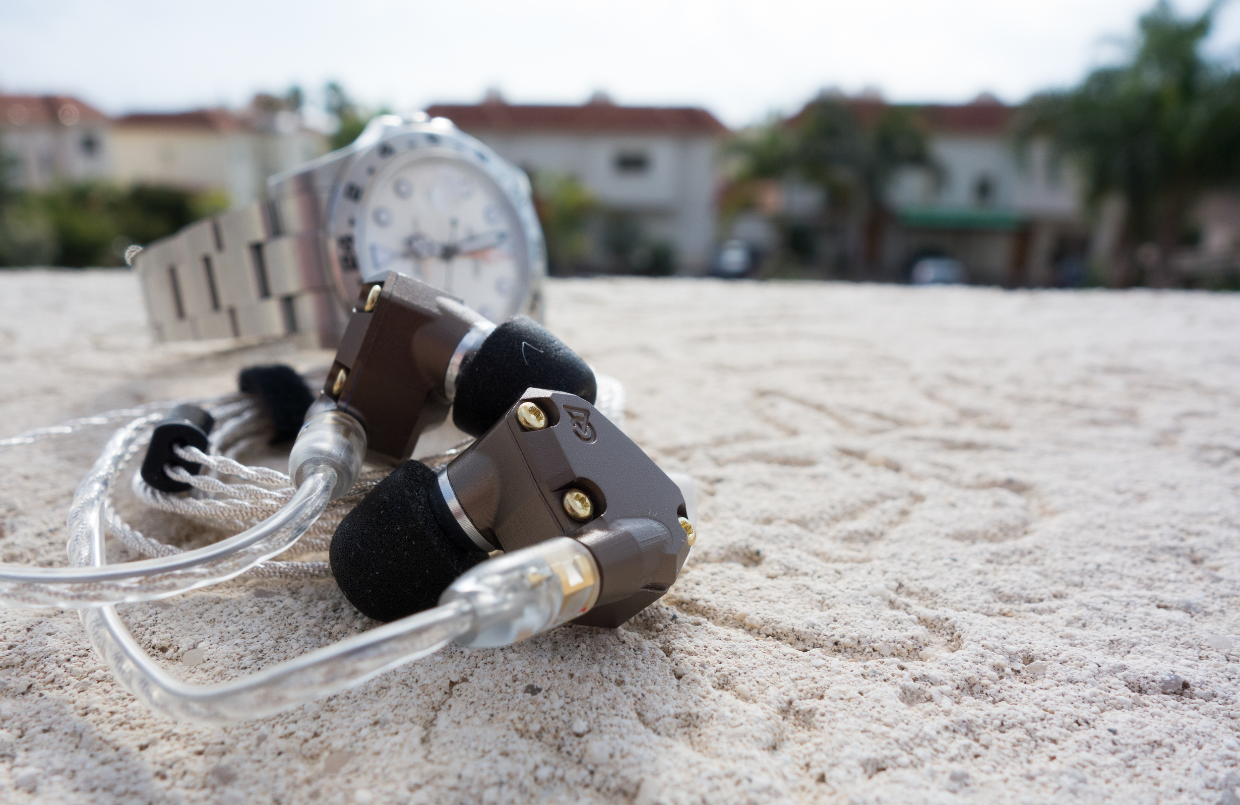 Sun in December. Relaxing listening sessions on the balcony with the Campfire Audio Jupiter IEM.
