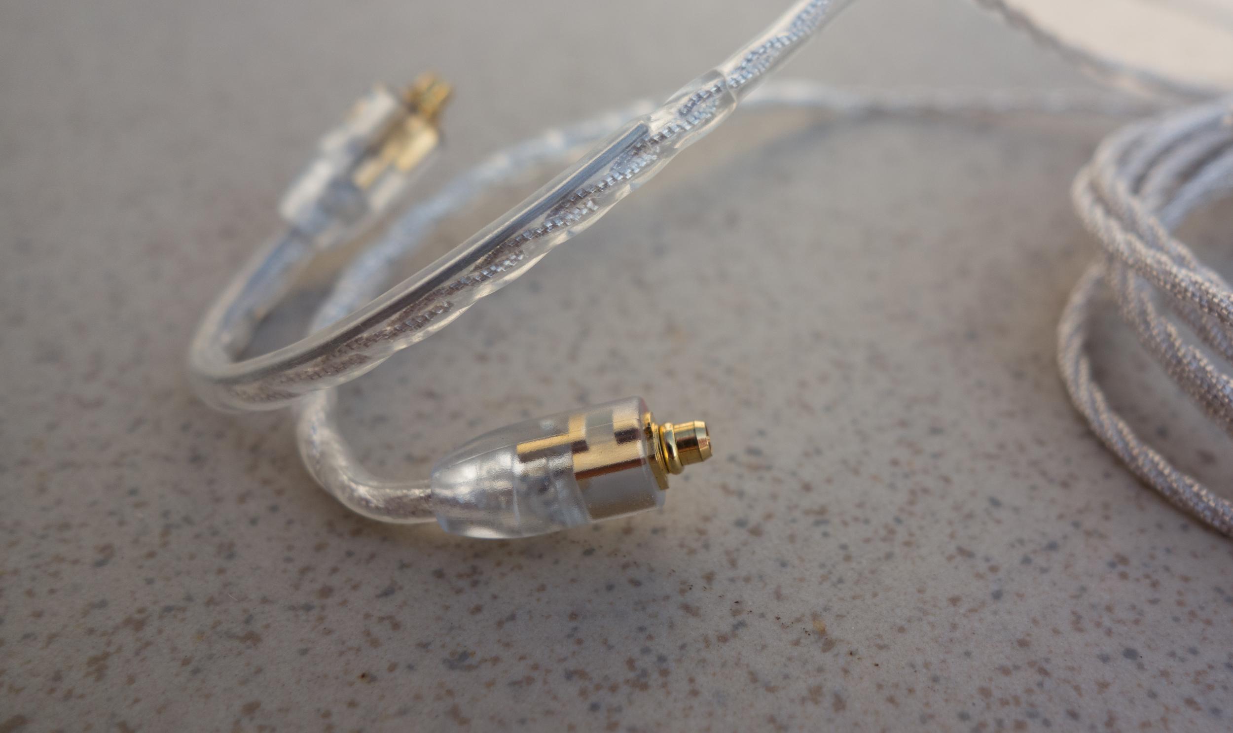 Detachable earphone cable for Campfire Audio IEM's