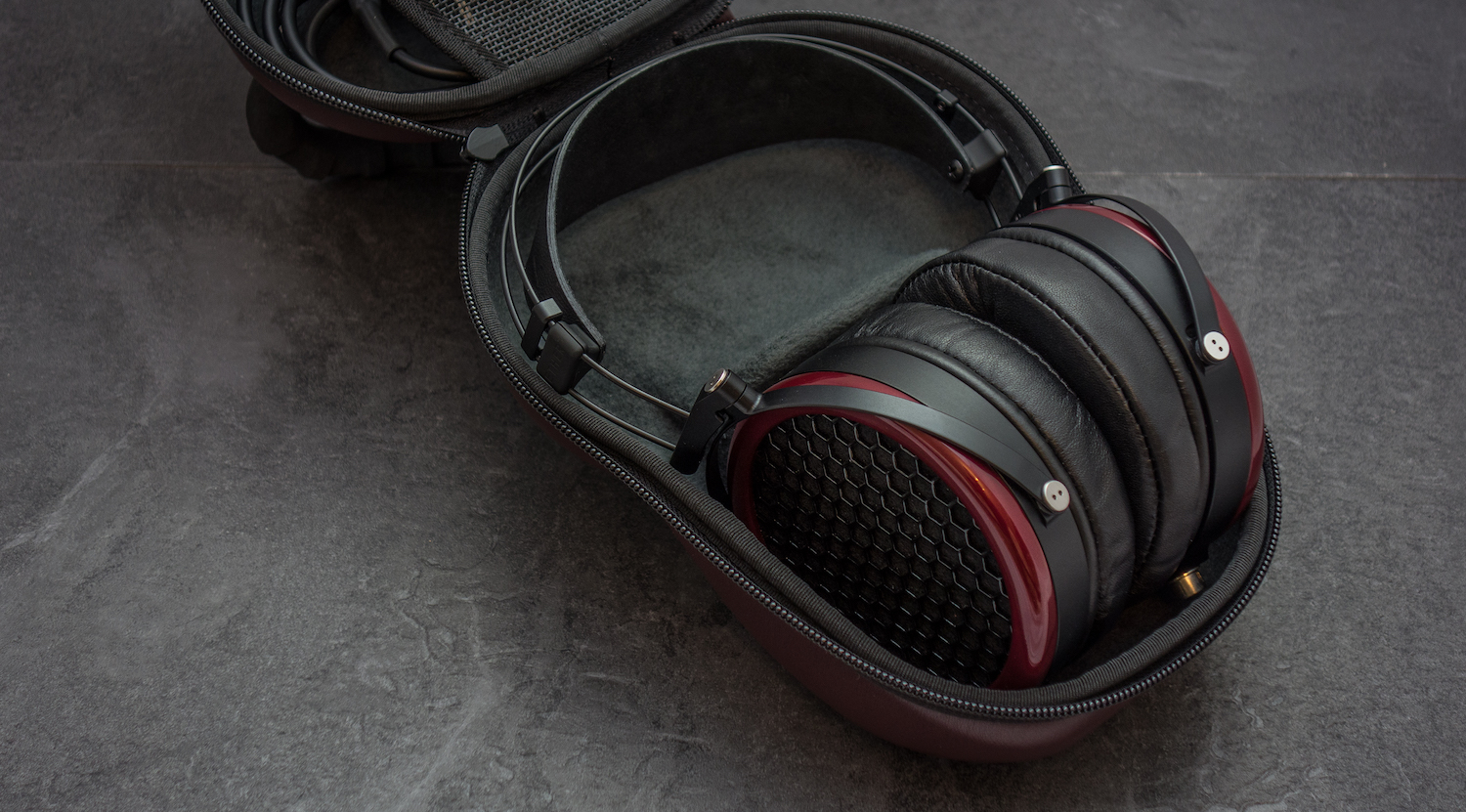 The Mr Speakers Ether now comes with one of the best headphone cases we have reviewed.