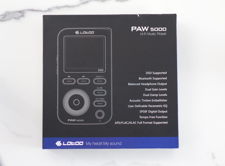 Lotoo P5000 box