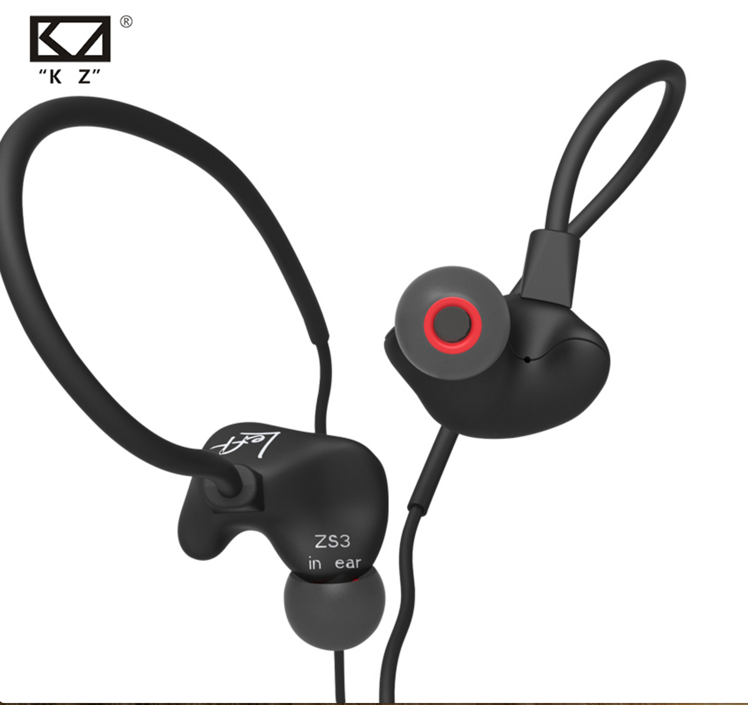 The new KZ ZS3 earphones.  Great earbuds for those on a budget of under $20.