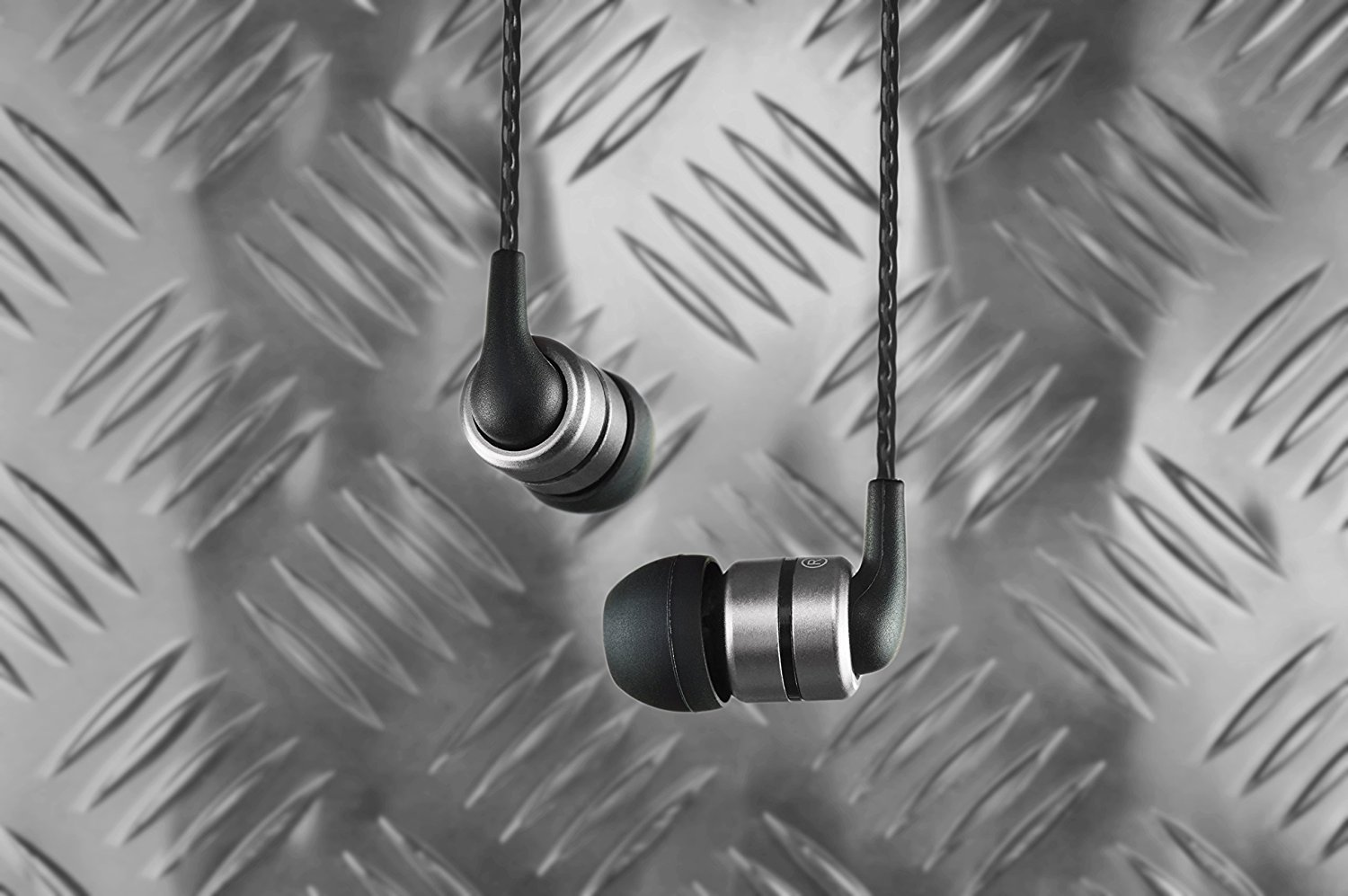 The SoundMagic E80 in-ear headphones.