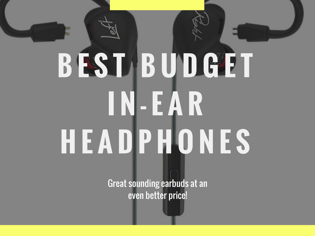 Lead image for the Best budget in ear headphone list.