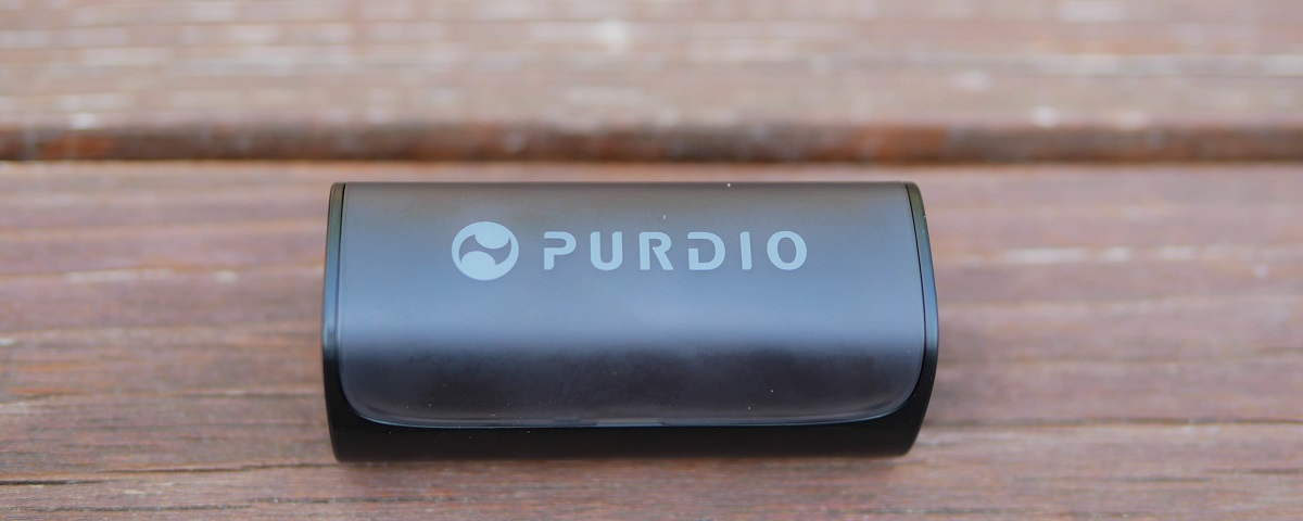 Purdio Charging carry case for Airon Earbuds.