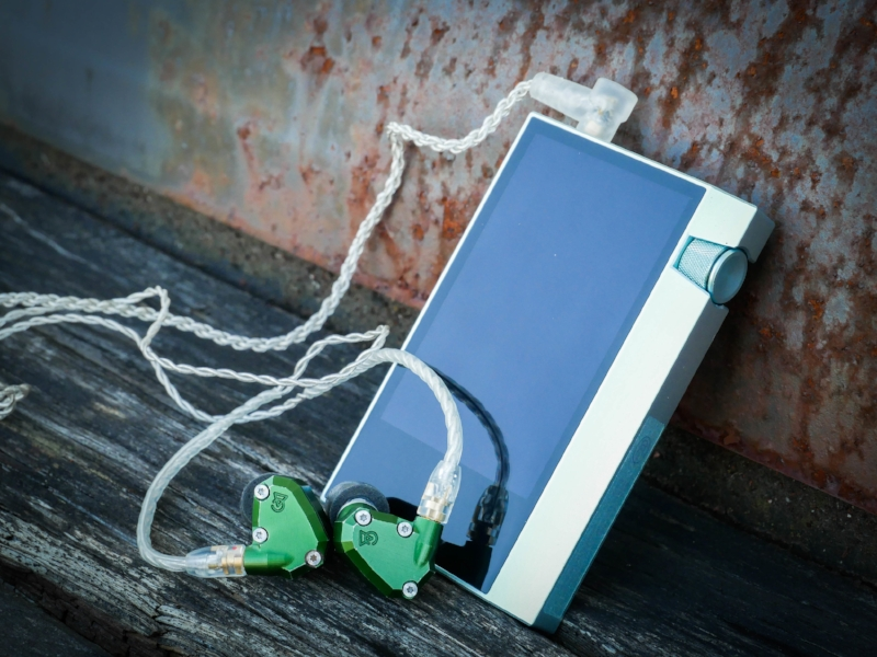 The Astell & Kern AK70 DAP with the Campfire Audio Andromeda IEM's