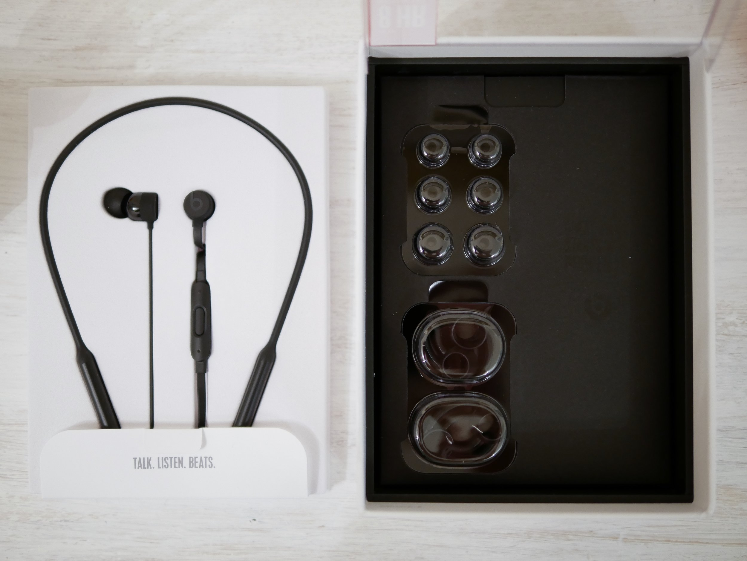 Beats x earbuds and accessories.