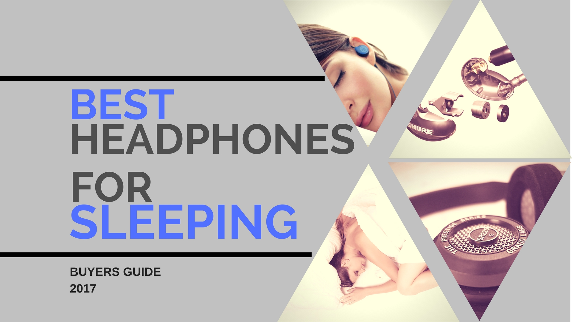 Best headphones for sleeping buyers guide 2017.