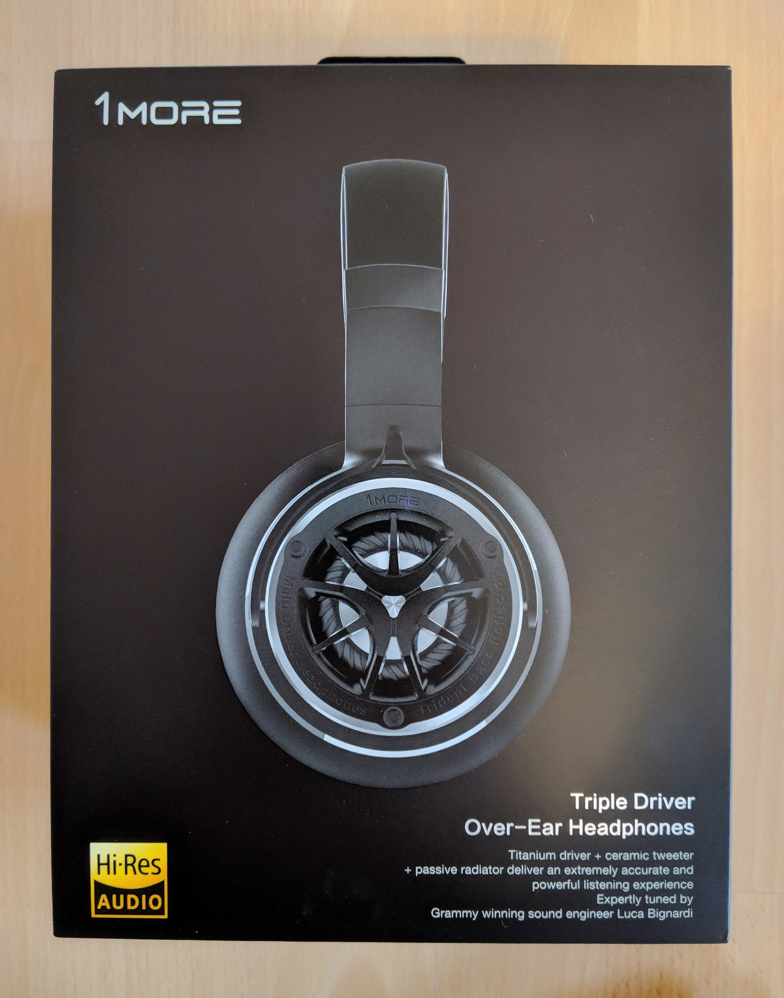 The 1More Triple driver over ear headphones