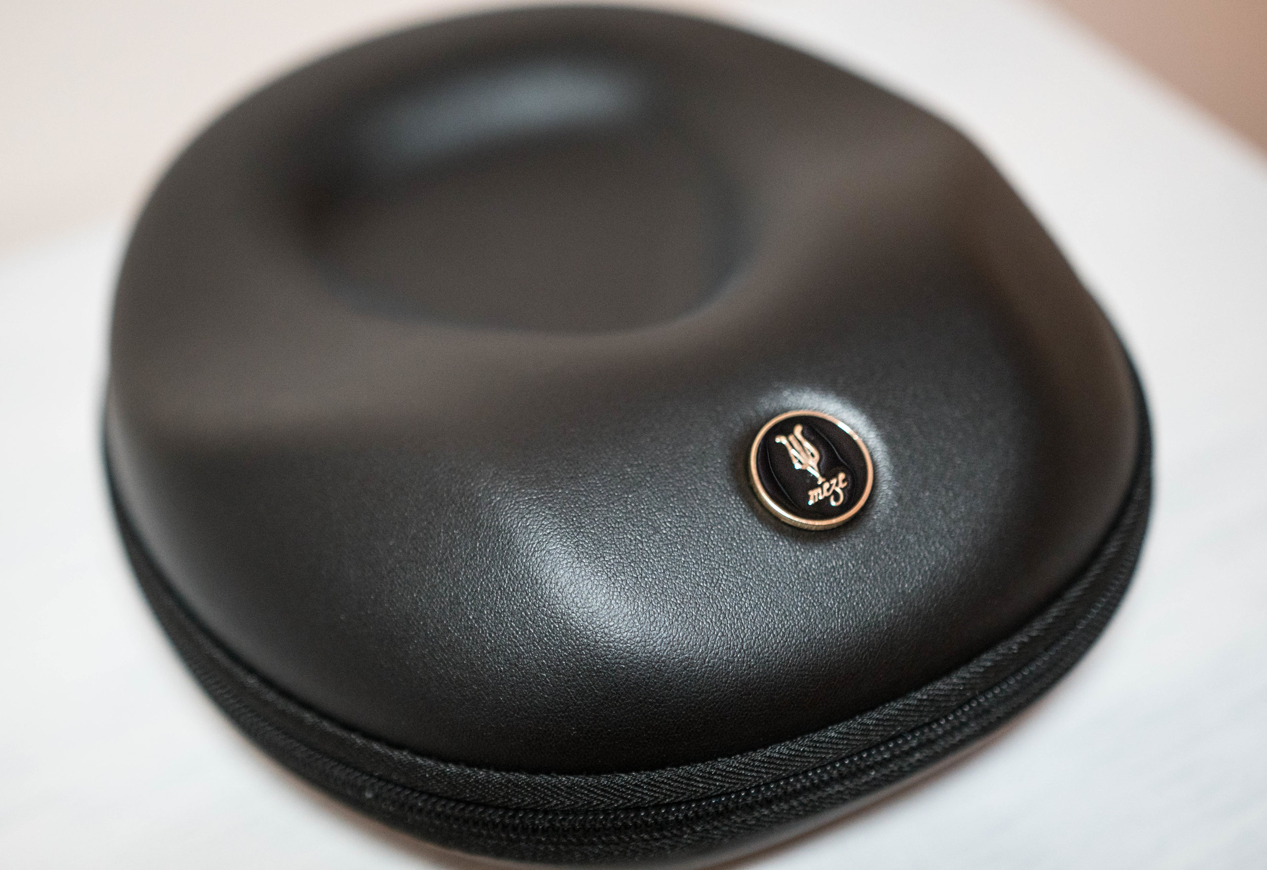 Custom Meze 99 headphone case.