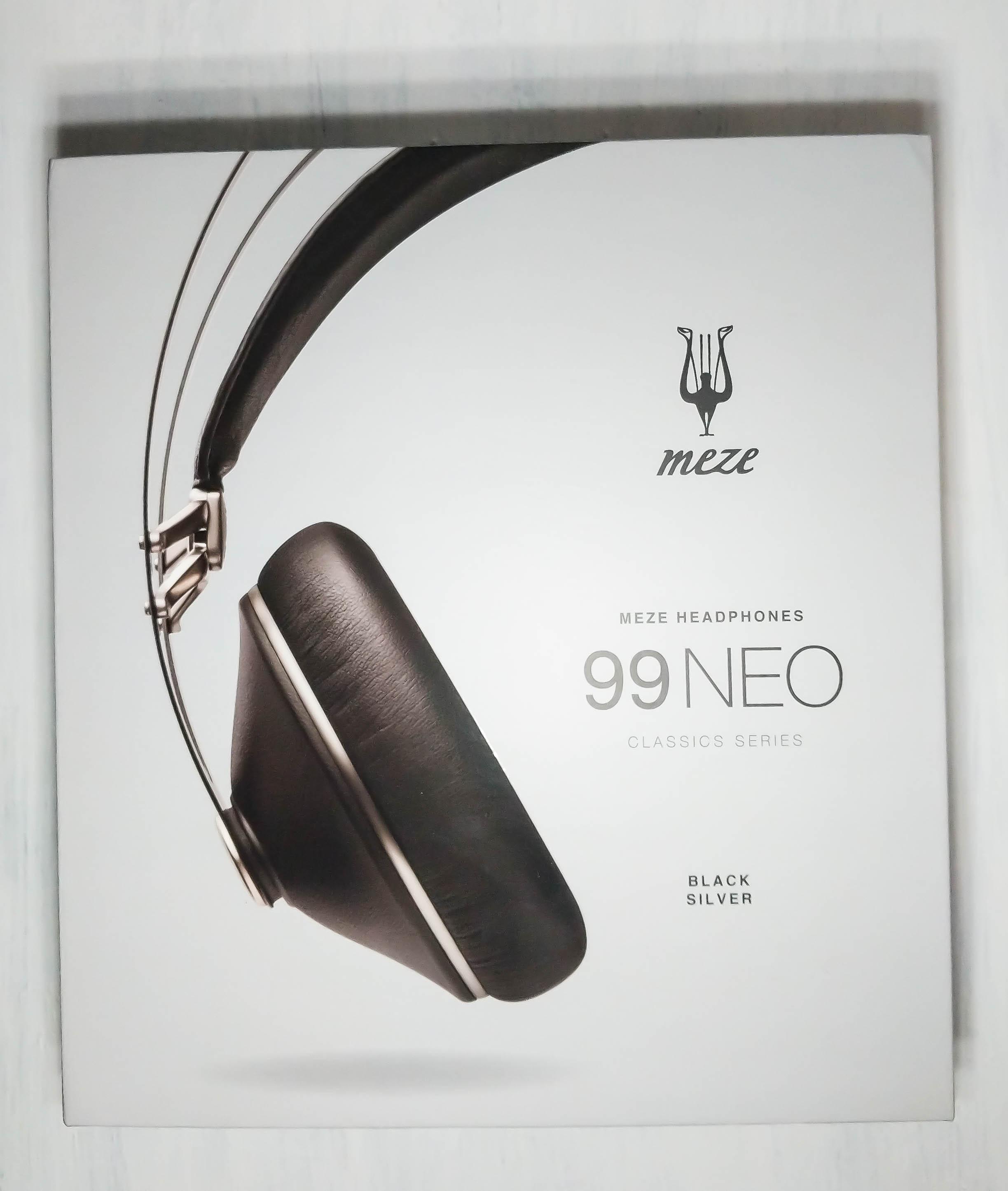 Box for the Meze 99 Neo headphone.