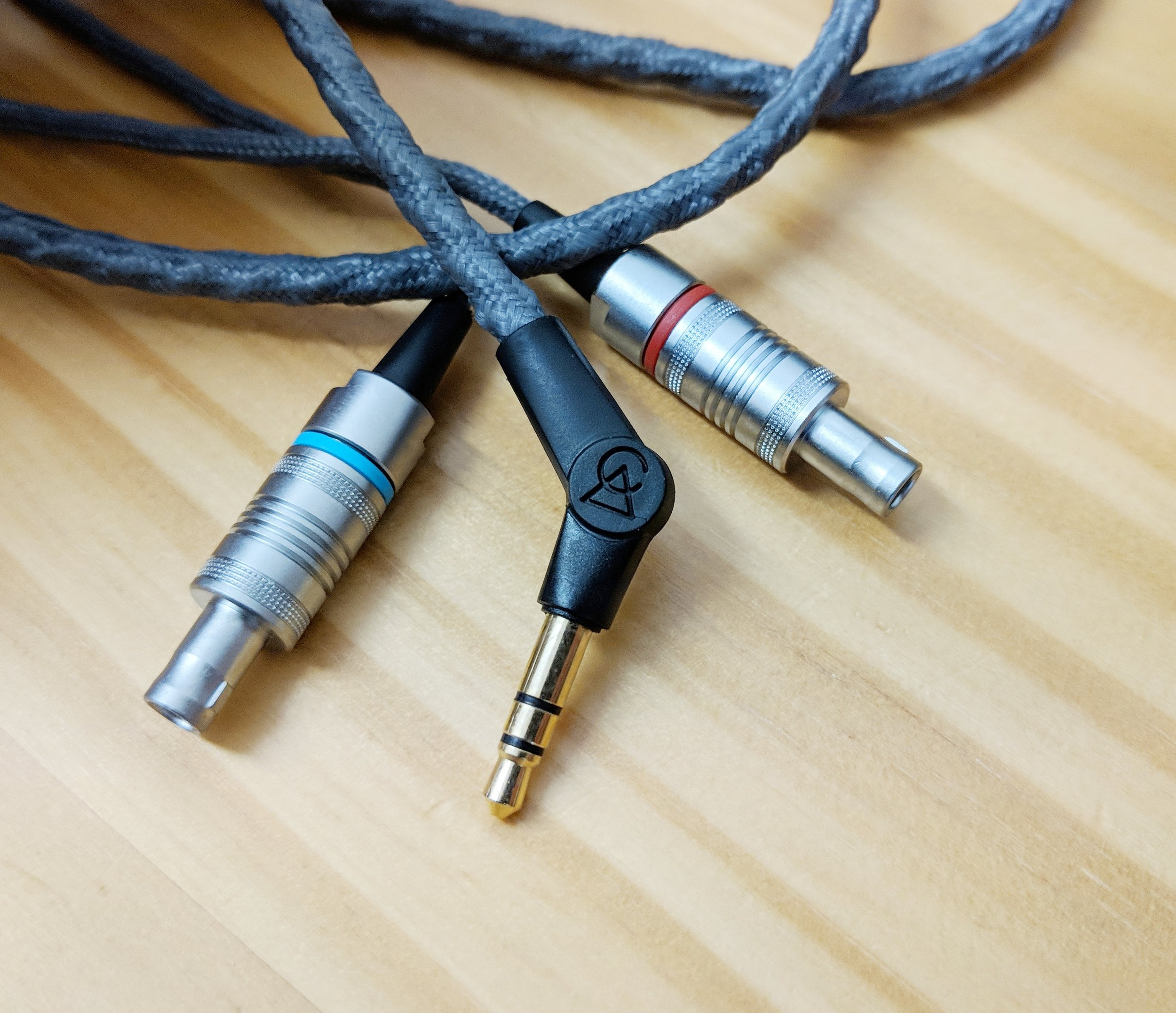 New custome headphone cable with 3.5mm termination for the Campfire Audio Cascade.