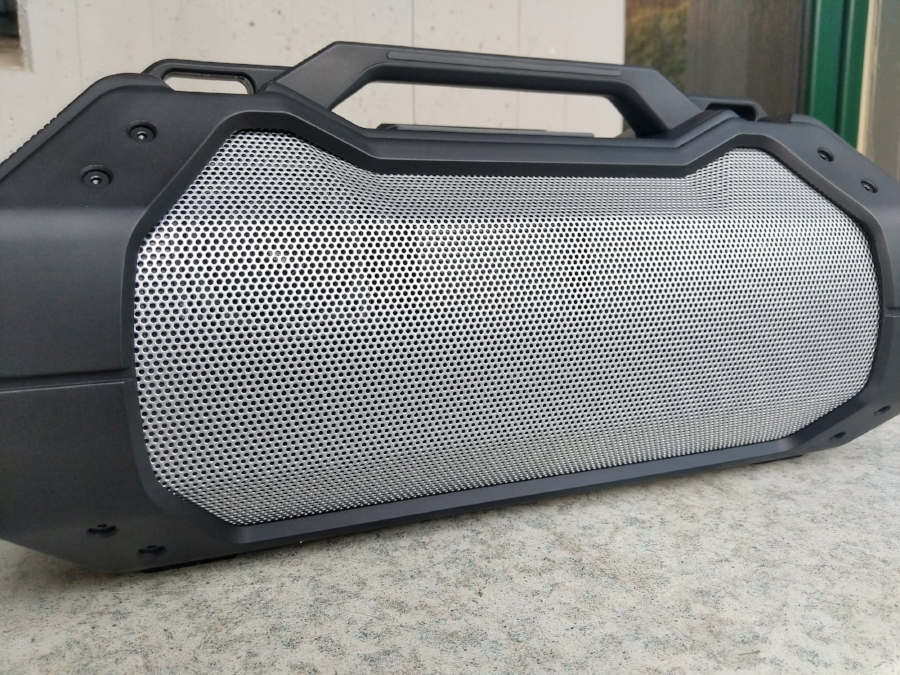 The full size and very loud Braven XXL bluetooth speaker - perfect for parties!