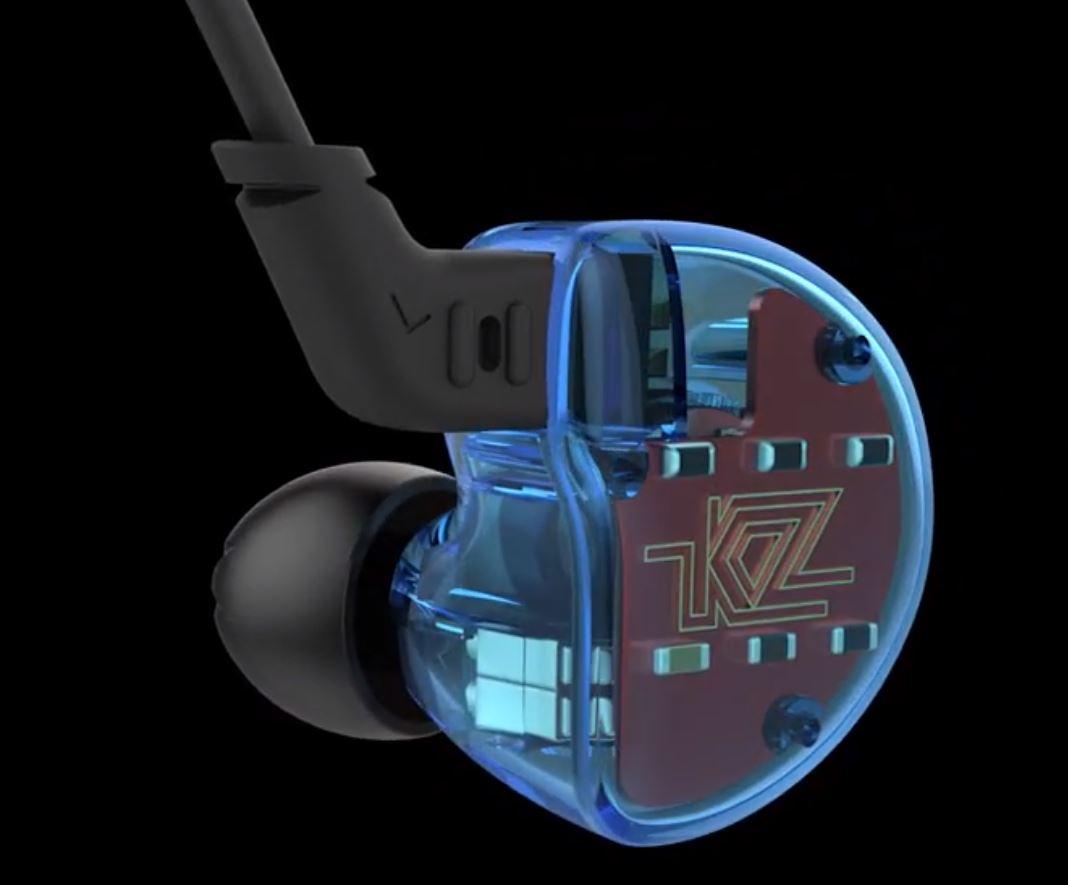 KZ ZS10 earphones