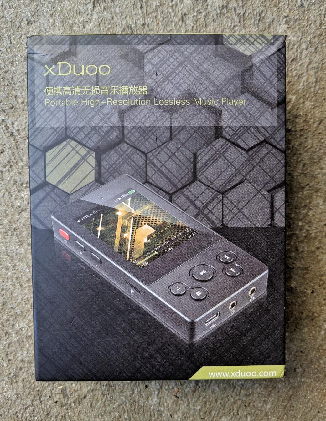 Xduoo X3 box