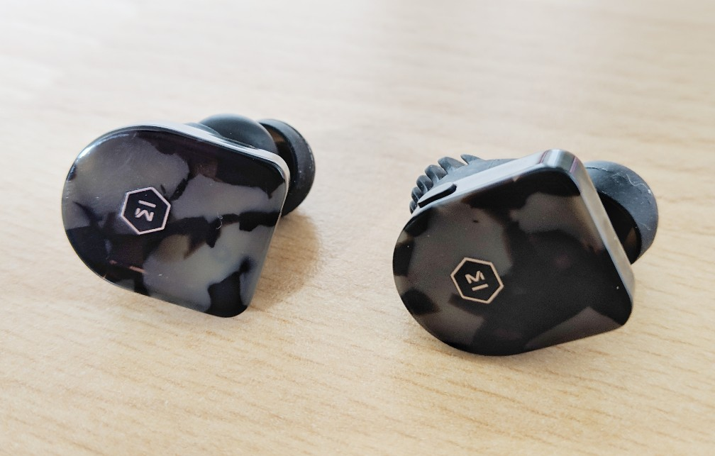 The Mw07 earbuds by Master and Dynamic