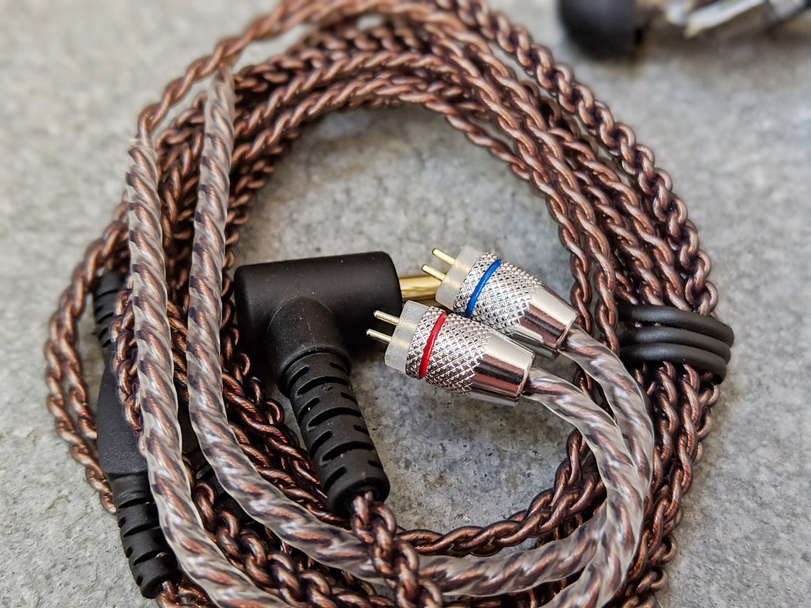 Cable for CCA earphones