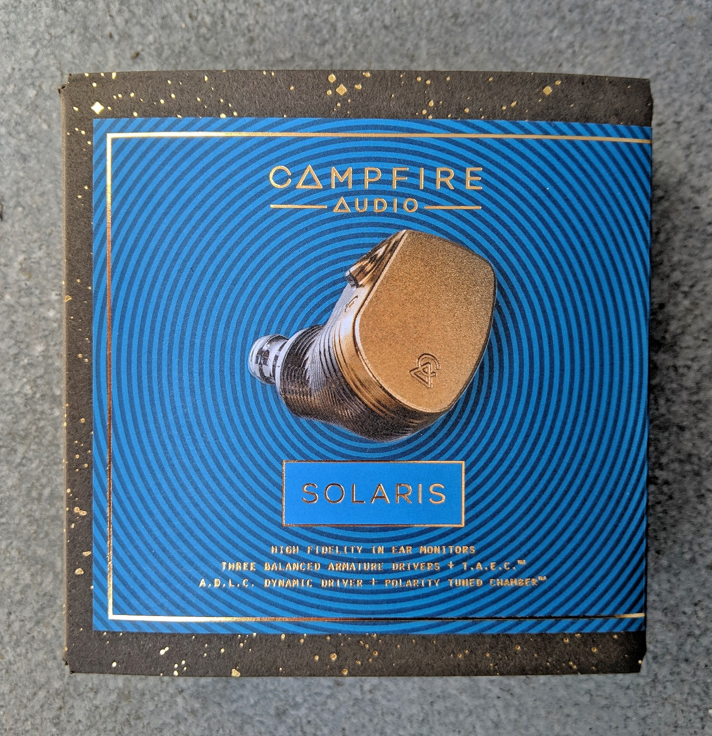 Campfire Audio Solaris box