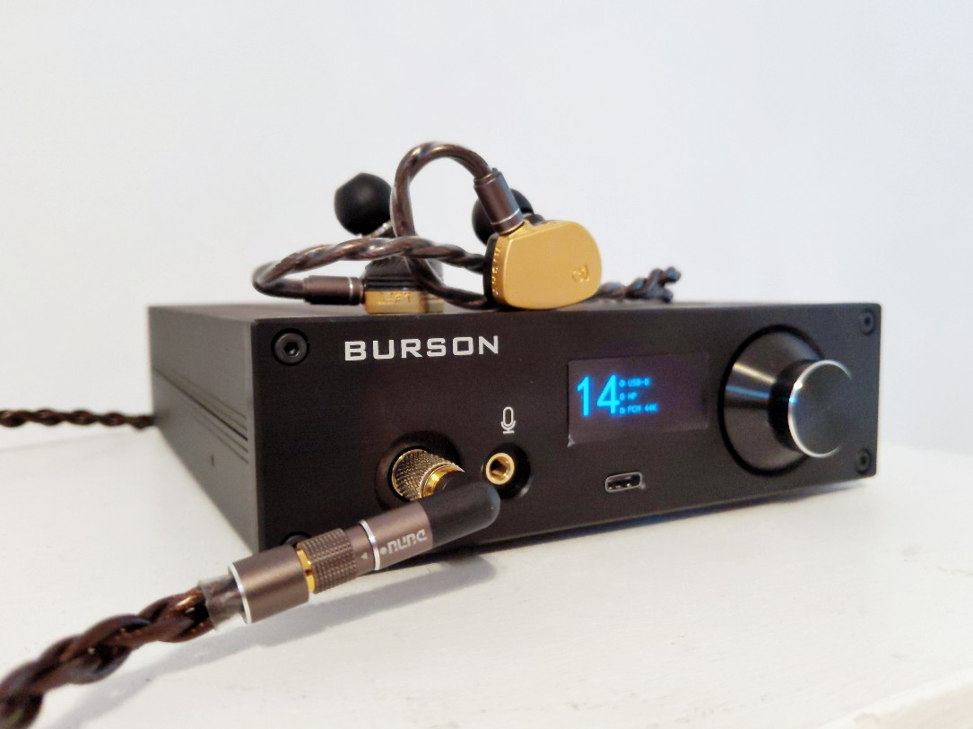 Burson Audio Playmate Review - Headphone DAC & Amp