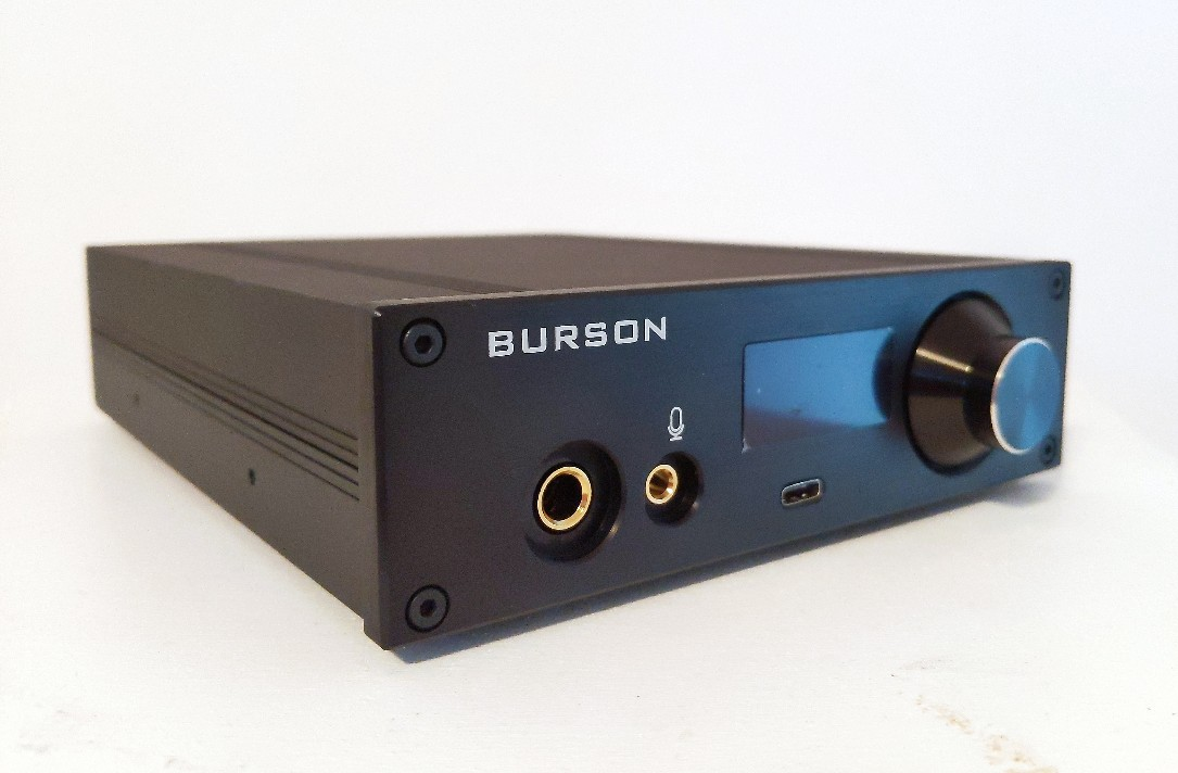 Burson Playmate DAC and Amplifier for headphones review.