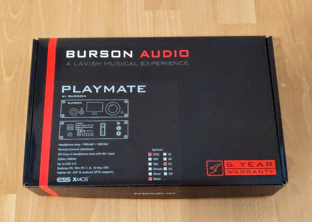 Burson Playmate box