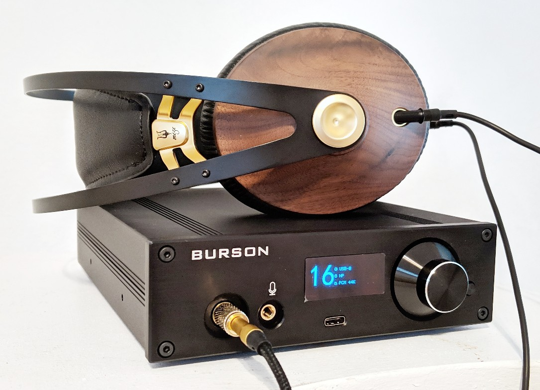 Burson Playmate Amp and DAC for headphones.