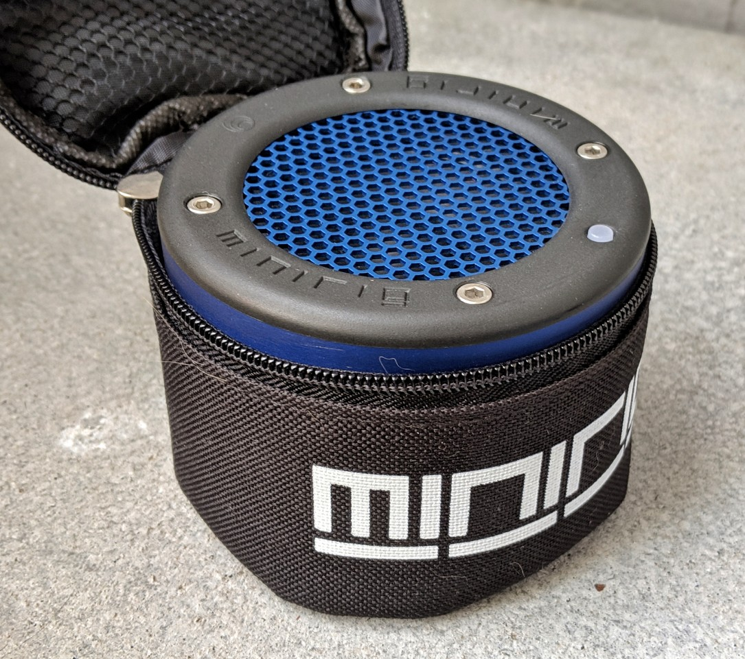 Minirig 3 in the protective carry case makes it a very small package to travel with this summer.
