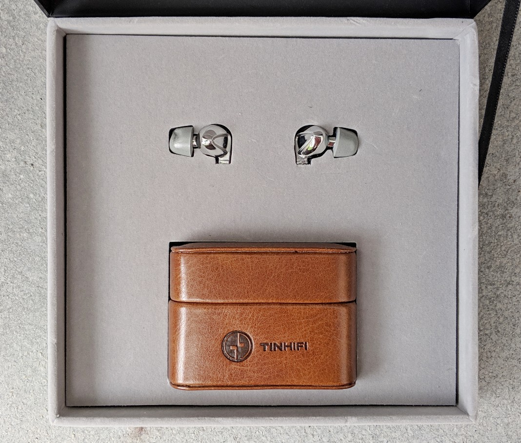 The packaging for the P1 earphones is simple and high quality despite being a relatively budget model.