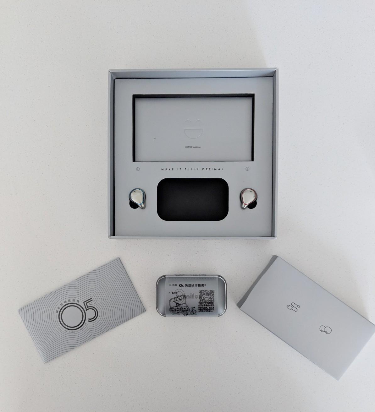 Mifo o5 packaging