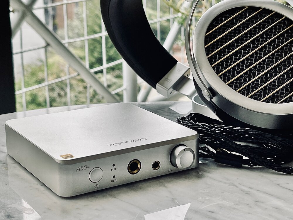 Topping A50s Headphone Amp Review - Amazing value!