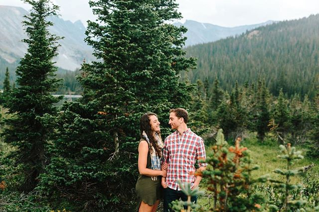 Nothing better than hanging out in the mountains with a really wonderful couple. This was our first time at Brainard Lake and we could not believe how beautiful was. It's starting to feel like fall out there...! #lizzieandmarco