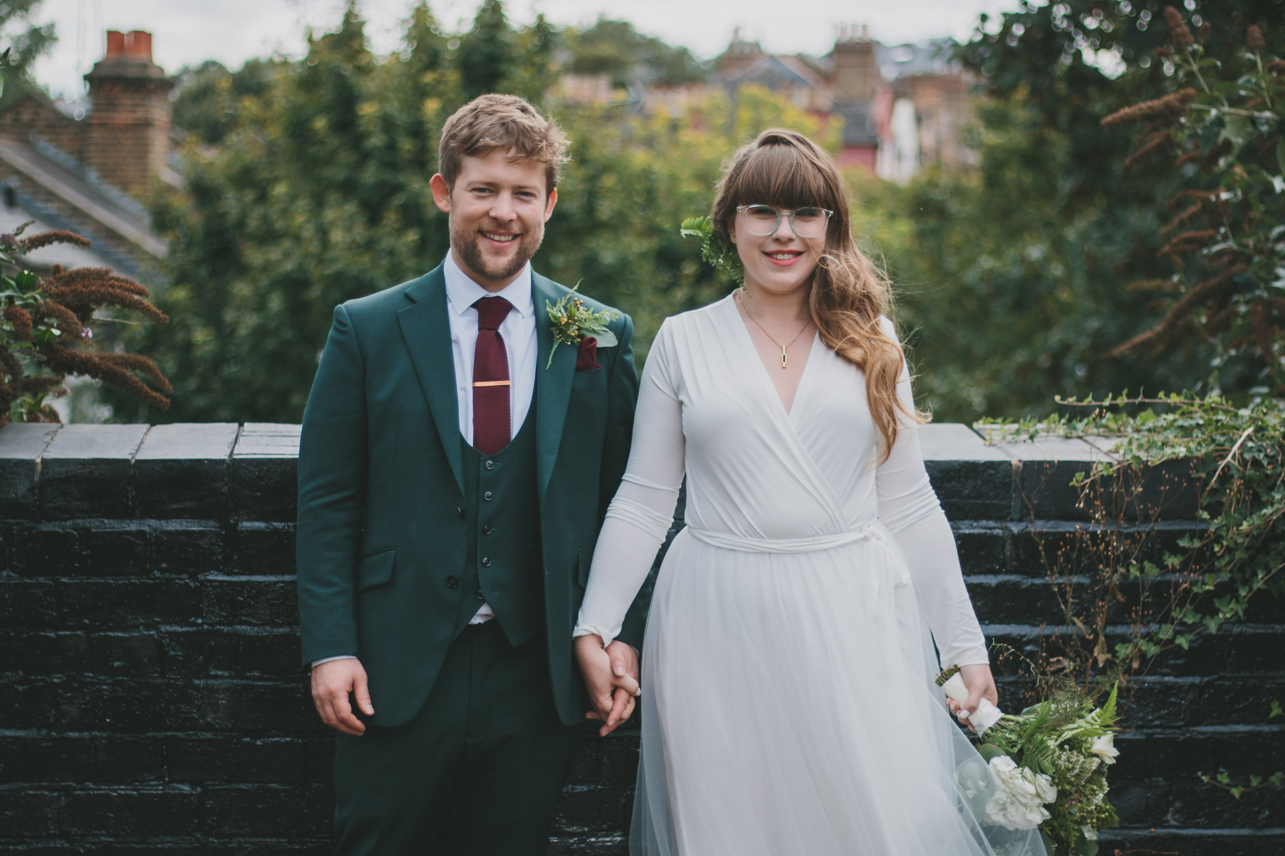 "Bea + Robbie  ""Victoria photographed our wedding in September and not only completely exceeded our expectations by capturing the day in the exact style we wanted, but was an absolute pleasure to have with us on the day. Such a star. Couldn't have asked for more!"""