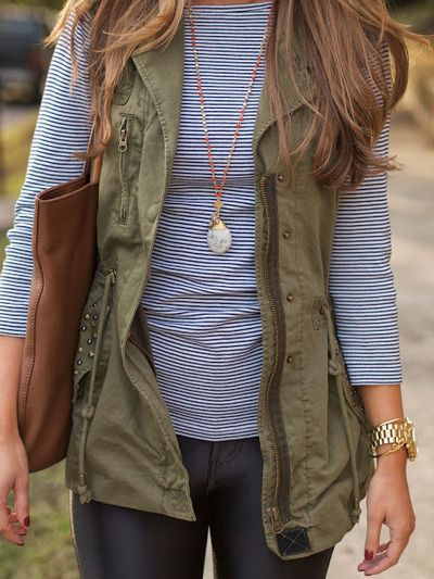 Army Style Vest