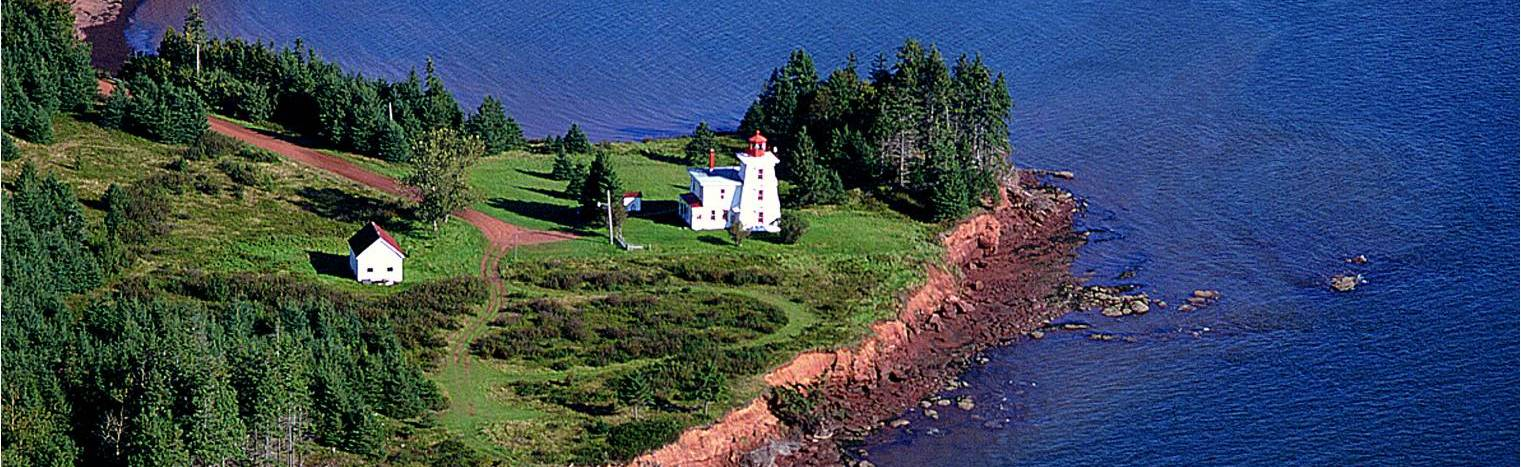 "Prince Edward Island - the setting for ""Anne of Green Gables"".  I can at least see somewhat of a comparison in location of the two books... though Cait & Baba flee to the city to get away from the country."