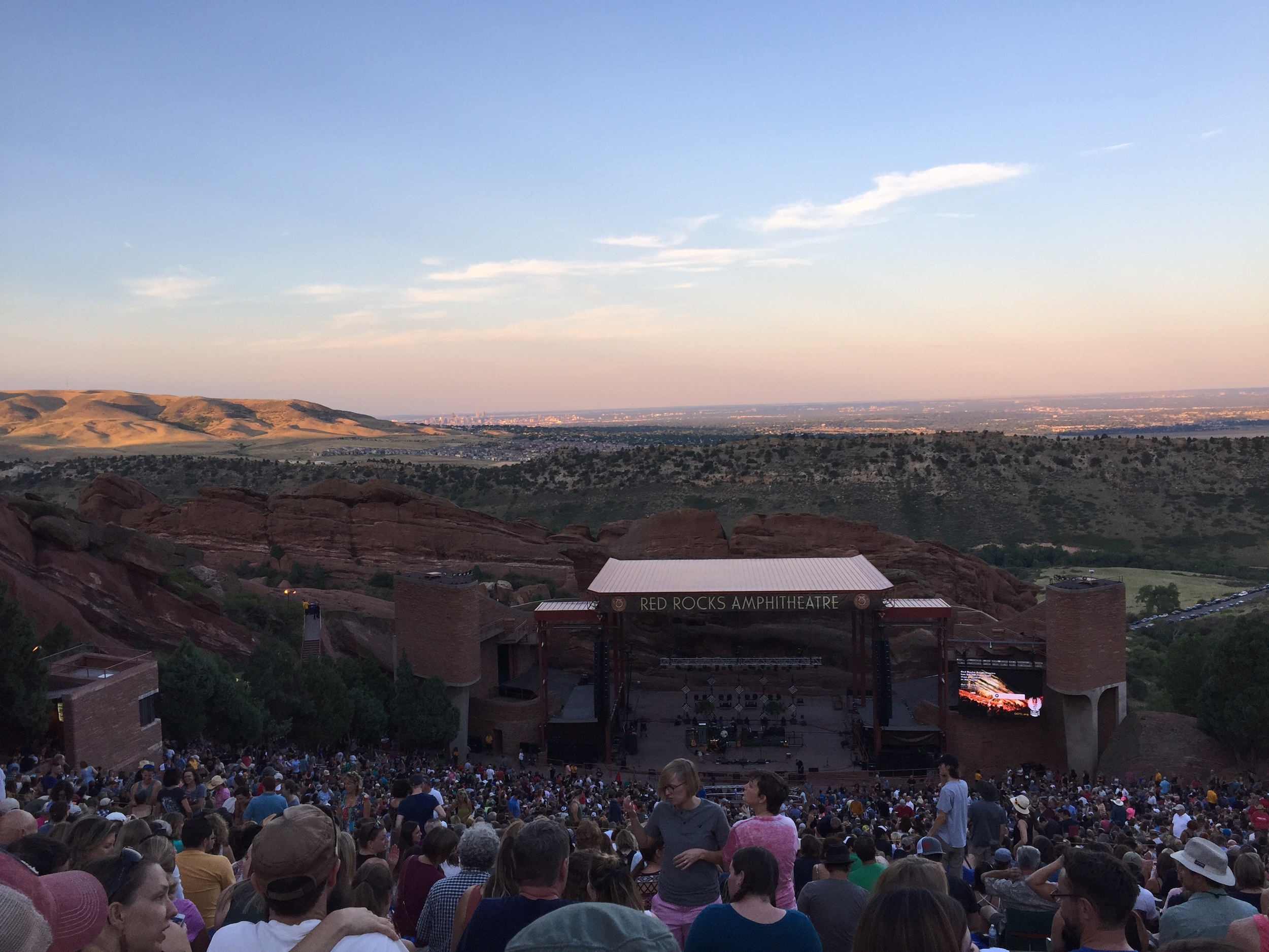 Old Crow Medicine Show at Red Rocks