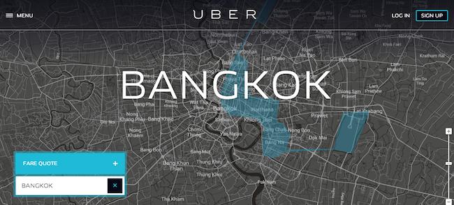 Uber Bangkok