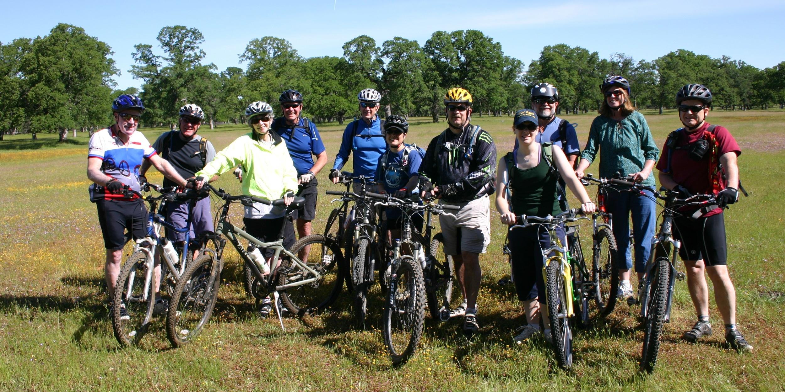 Biking at Fenwood Ranch