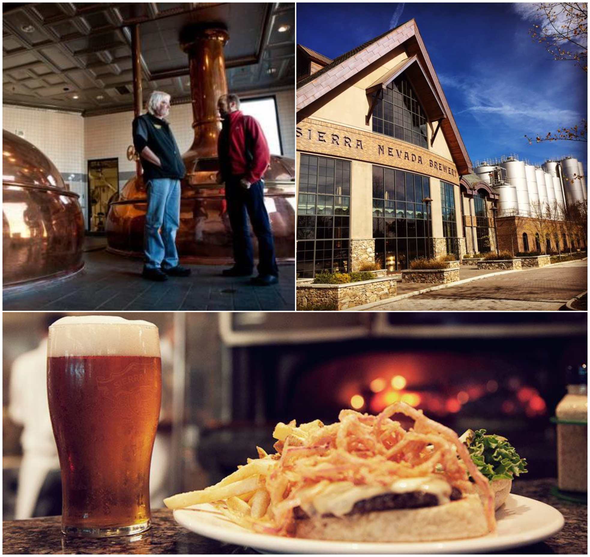 Sierra Nevada | Tour, beer tasting, appetizers and more!