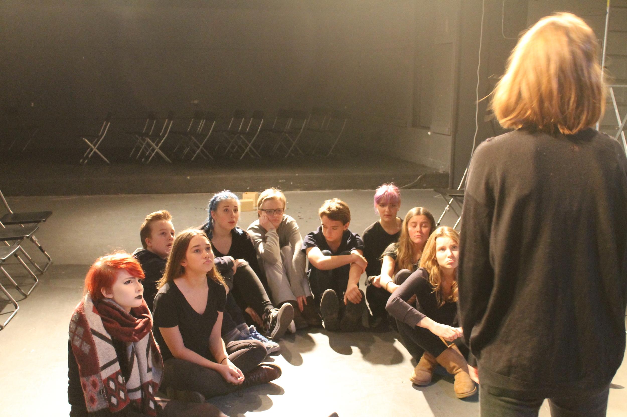 Teaterkurs från 14år