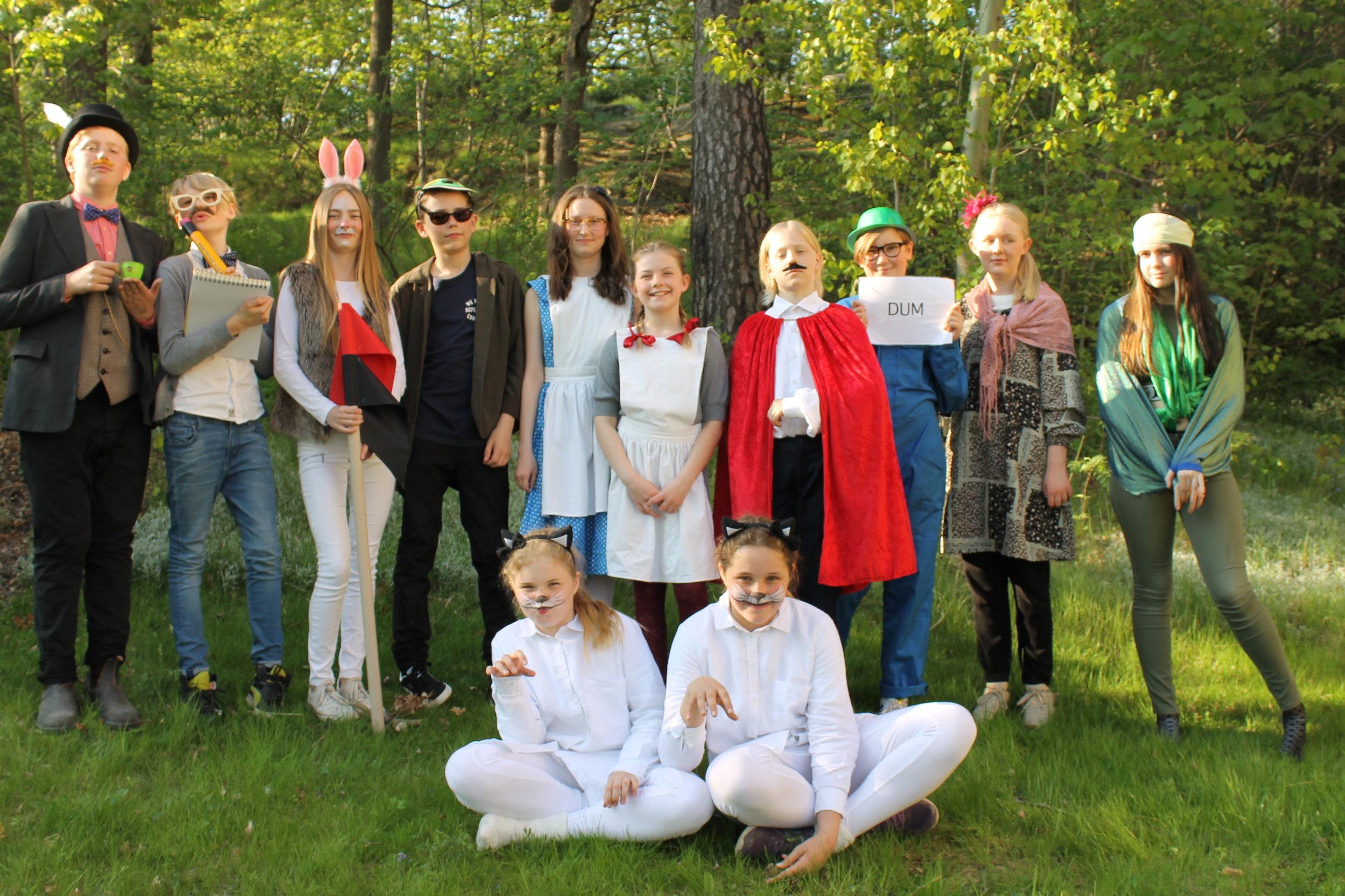 Alice i Underlandet vt2017. Teaterkurs 12-14år. Hello Creative.JPG