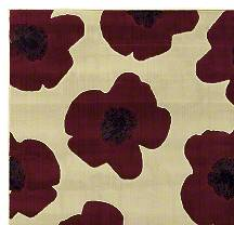 Red Poppy Area Rug