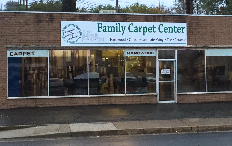 Family Capet Center Storefront