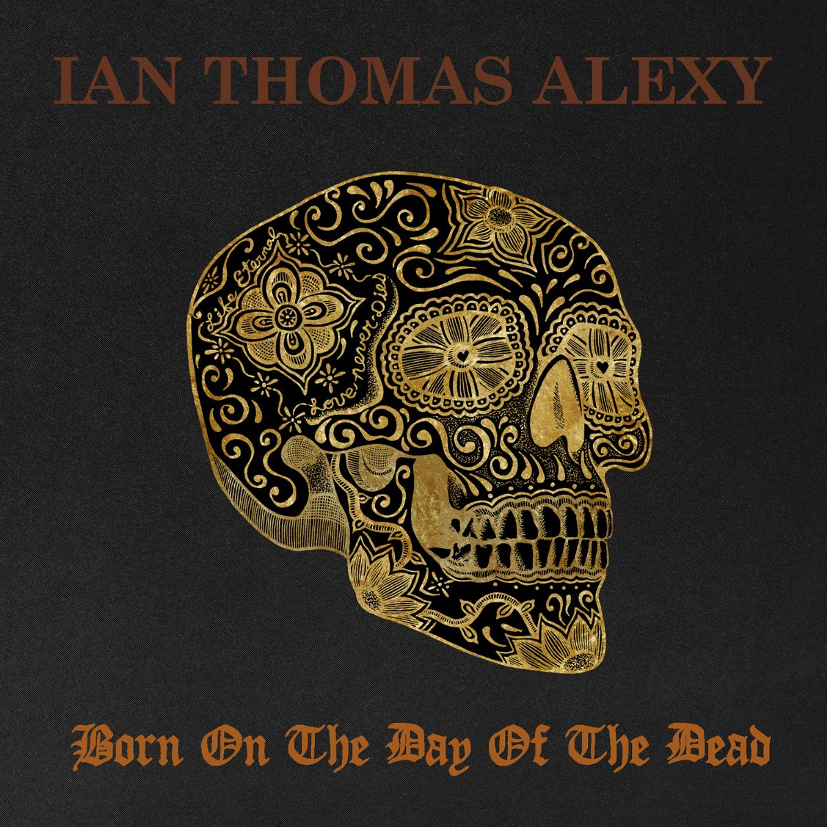 BORN ON THE DAY OF THE DEAD, Front Cover