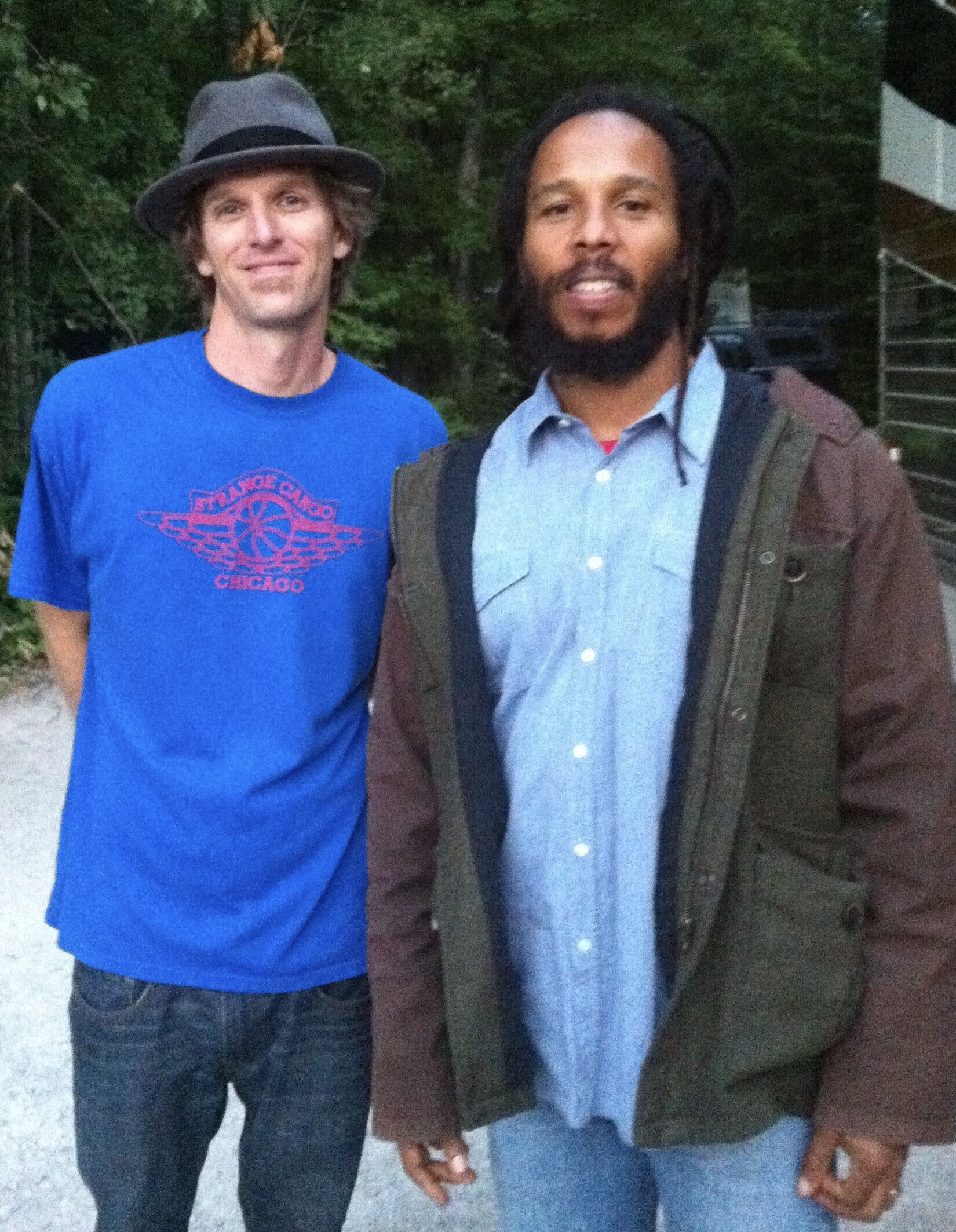 Teague Alexy & Ziggy Marley August 9, 2014 Bayfield, WI