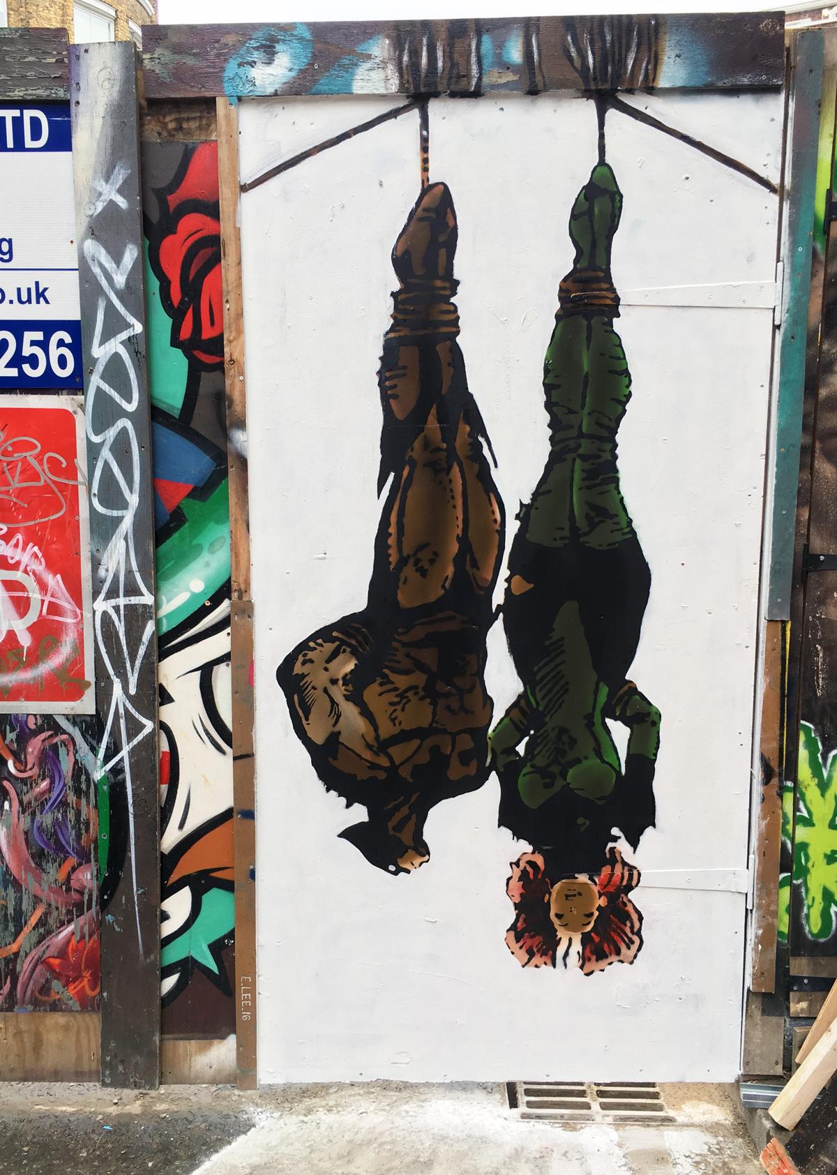 Hanging Around E.LEE Shoreditch London