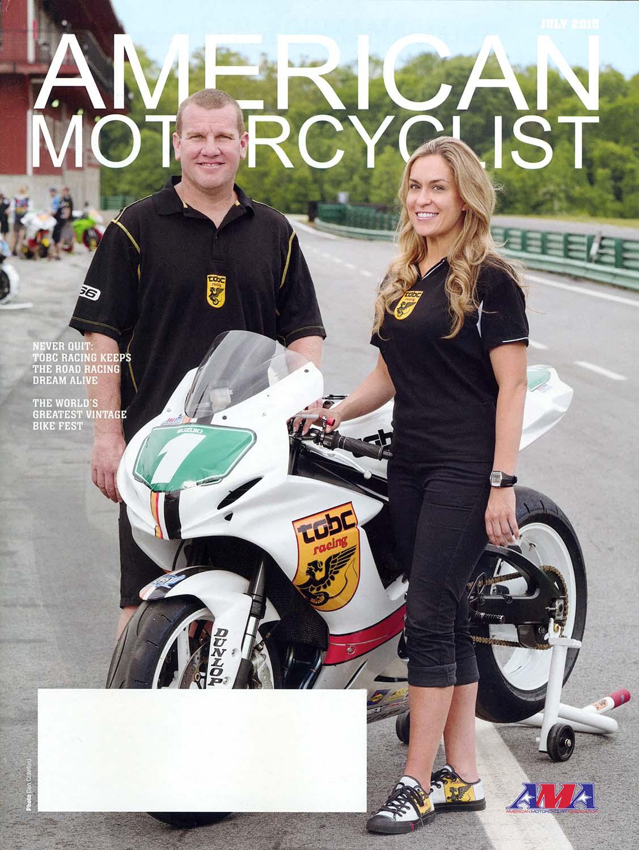 Magazine cover photo