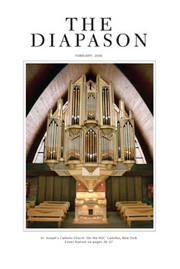 The Diapason, February 2006