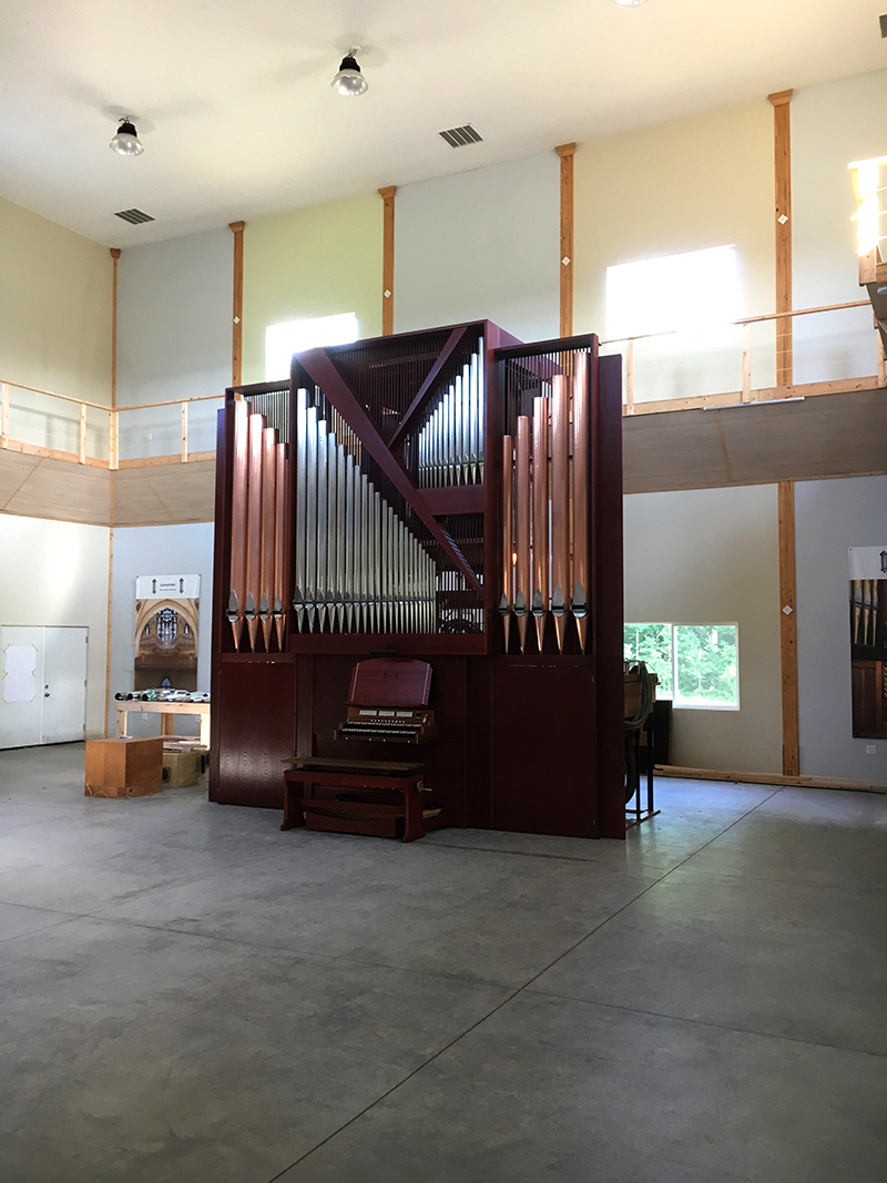 Organ assembled in our shop