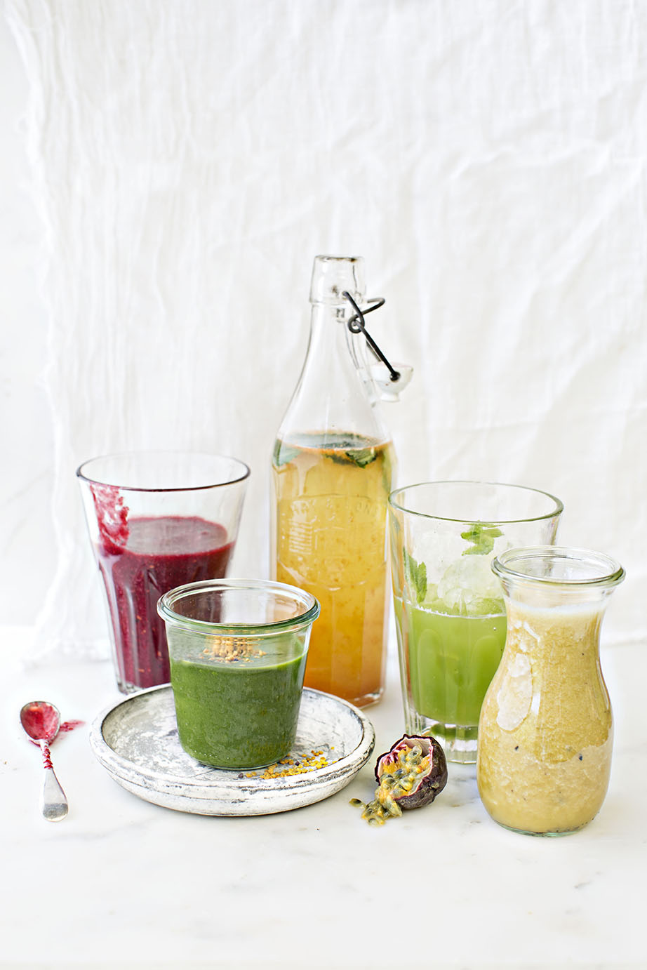 smoothie recipes by Jette Virdi, food stylist in Dublin and London