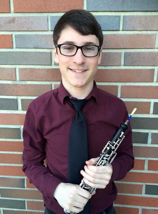 Andrew van der Paardt, oboe