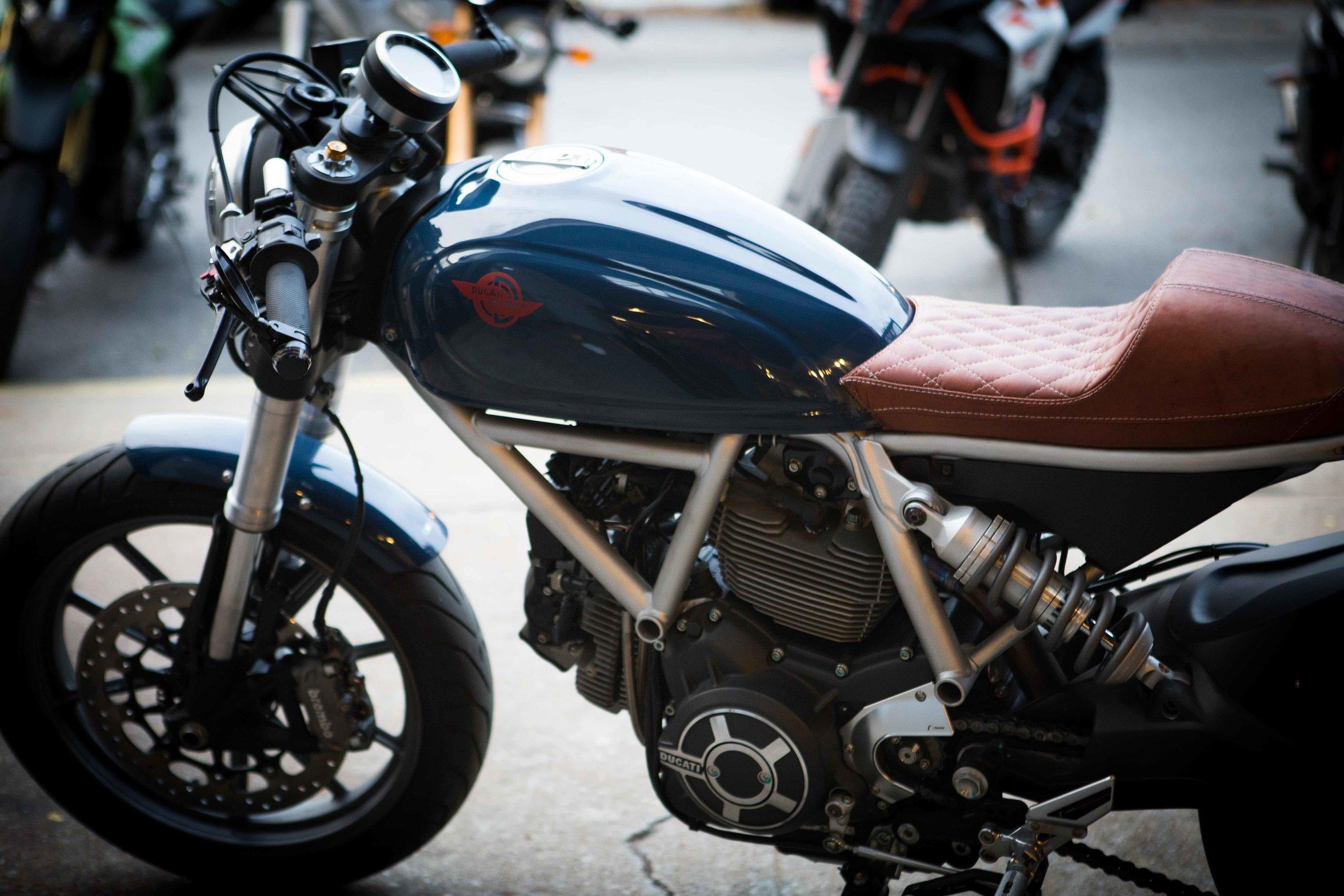 Ducati Scrambler build by Kerry Sano  https://www.motovelocita.com/